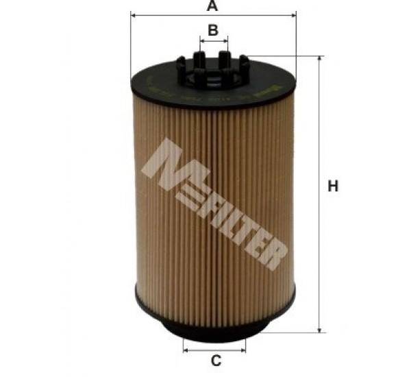 DE 3106 Фільтр для фільтрування палива у ДВЗ