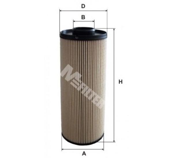 DE 3107 Фільтр для фільтрування палива у ДВЗ