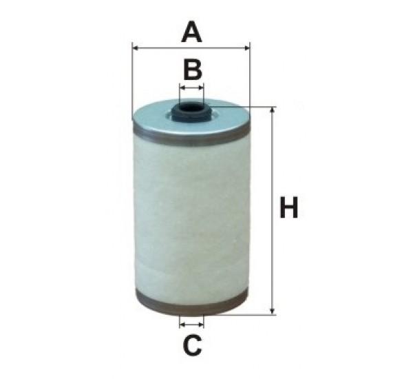 DE 3110 Фільтр для фільтрування палива у ДВЗ