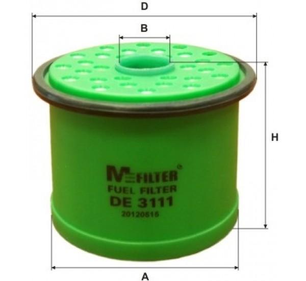DE 3111 Фільтр паливний