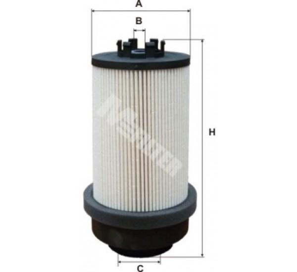 DE 3112 Фільтр для фільтрування палива у ДВЗ