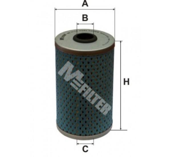 DE 3114 Фільтр для фільтрування палива у ДВЗ