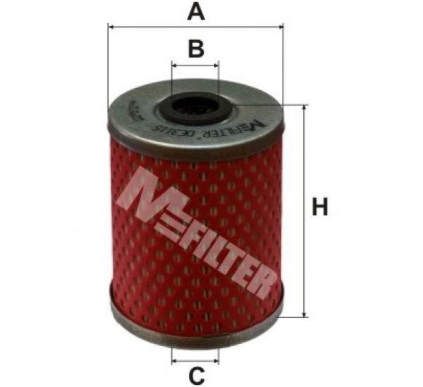 DE 3115 Фільтр паливний