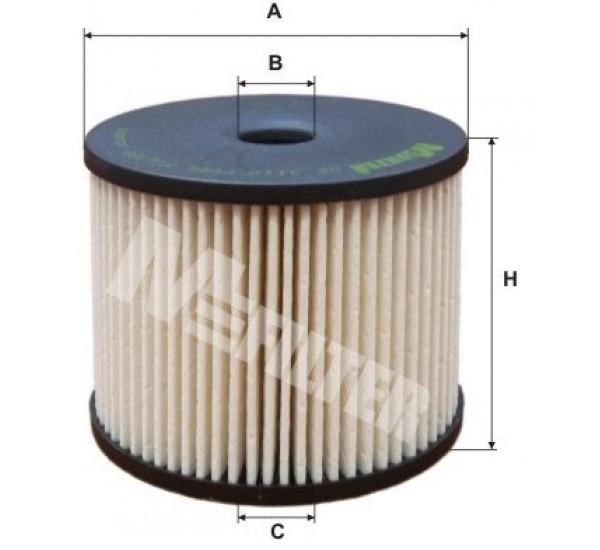 DE 3119 Фільтр паливний
