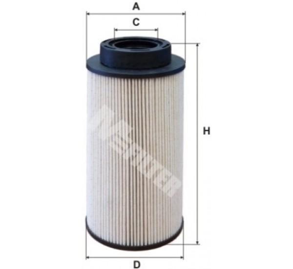 DE 3125 Фільтр для фільтрування палива у ДВЗ