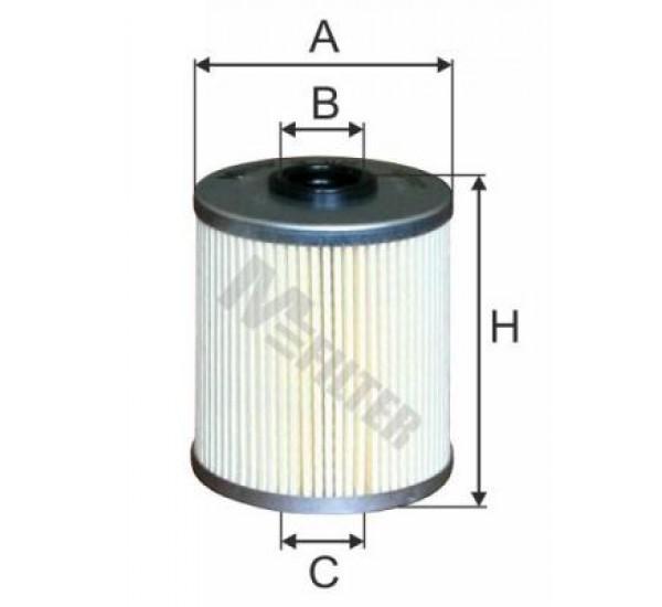 DE 3129 Фільтр для фільтрування палива у ДВЗ