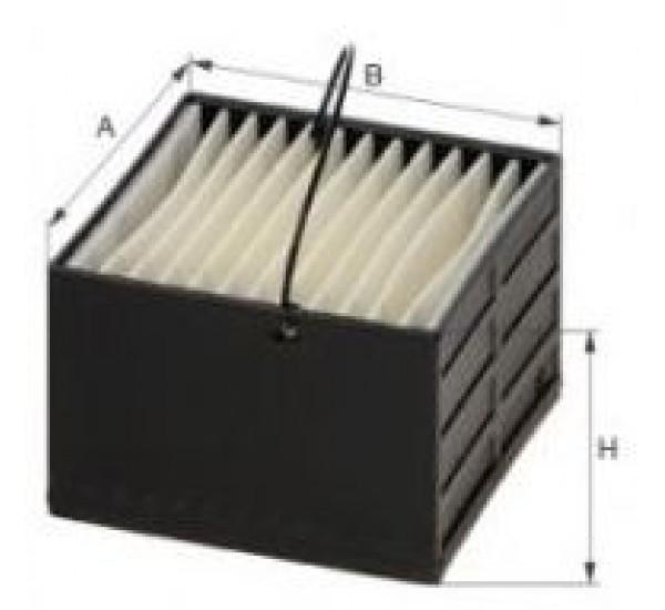 DE 3400 Фільтр для фільтрування палива у ДВЗ