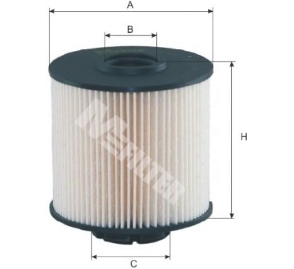 DE 631 Фільтр для фільтрування палива у ДВЗ