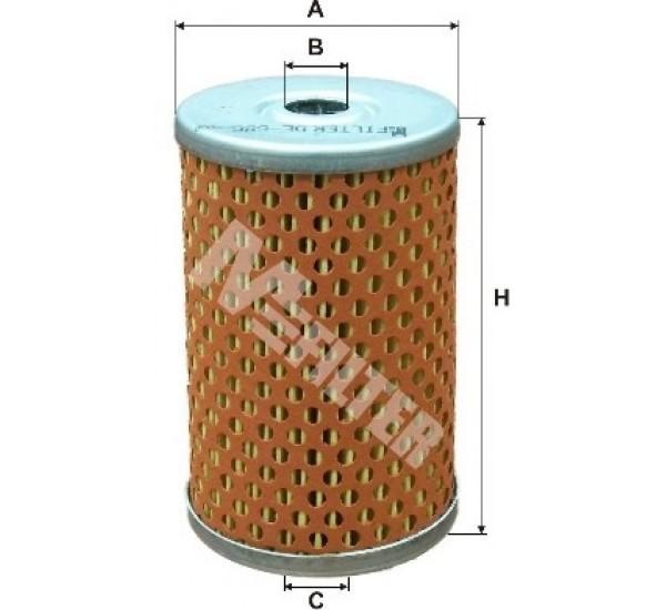 DE 686 Фільтр паливний