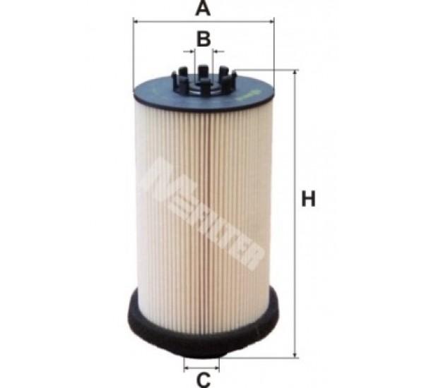 DE 687 Фільтр для фільтрування палива у ДВЗ