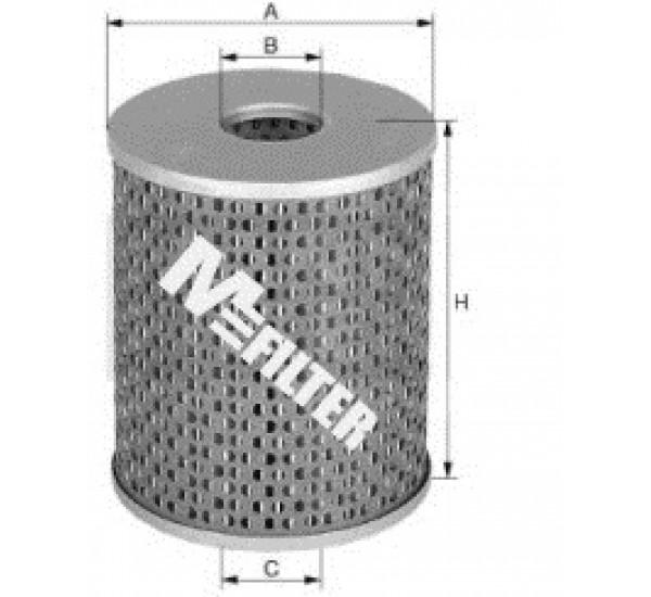 DE 688 Фільтр паливний