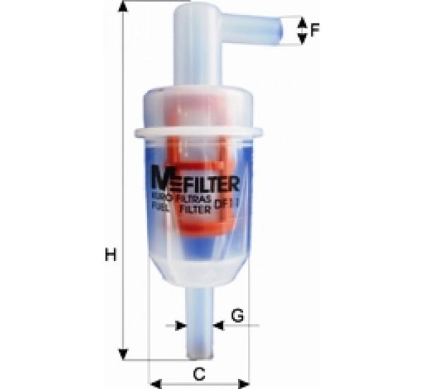 DF 11 Фільтр паливний