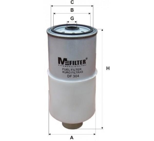 DF 304 Фільтр паливний