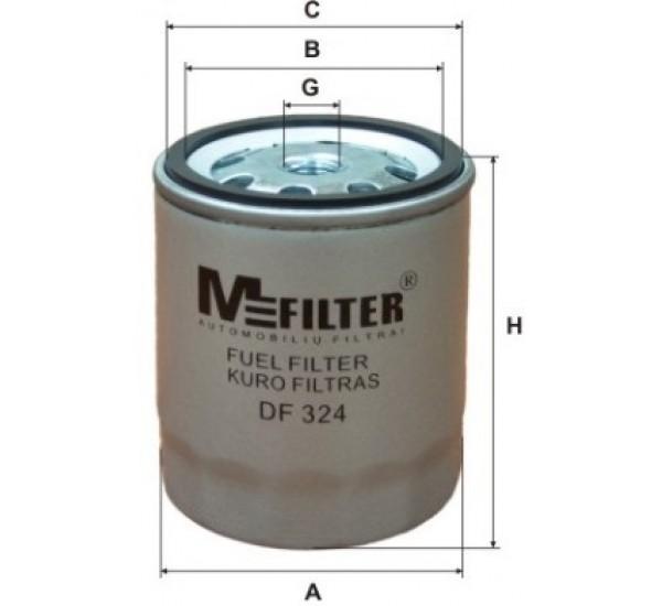 DF 324 Фільтр паливний