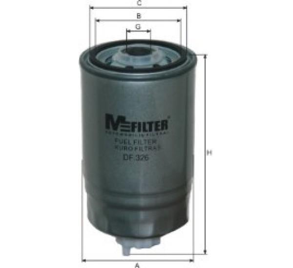 DF 326 Фільтр для фільтрування палива у ДВЗ