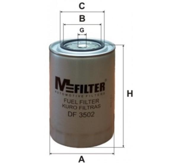 DF 3502 Фільтр паливний