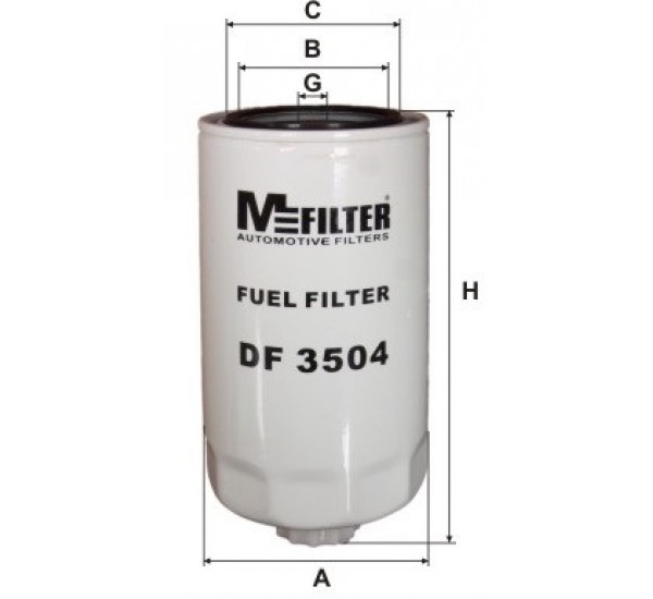 DF 3504 Фільтр паливний