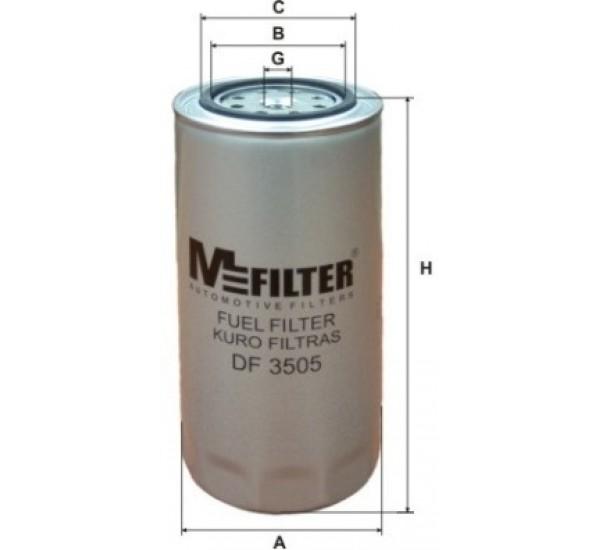 DF 3505 Фільтр для фільтрування палива у ДВЗ