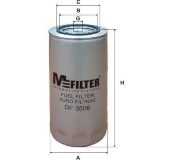 DF 3506 Фільтр для фільтрування палива у ДВЗ