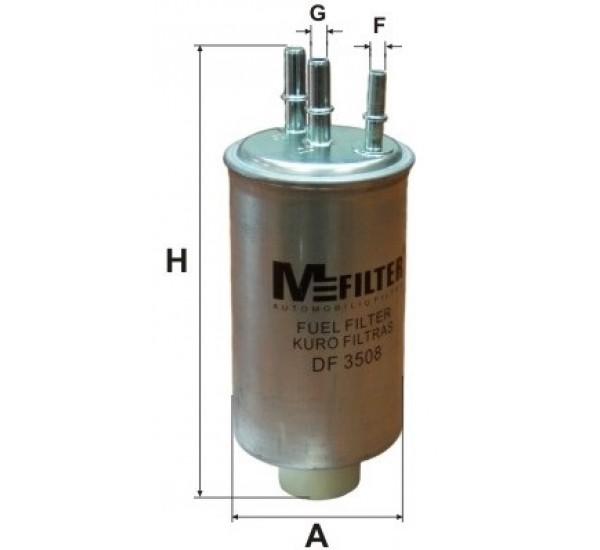 DF 3508 Фільтр для фільтрування палива у ДВЗ