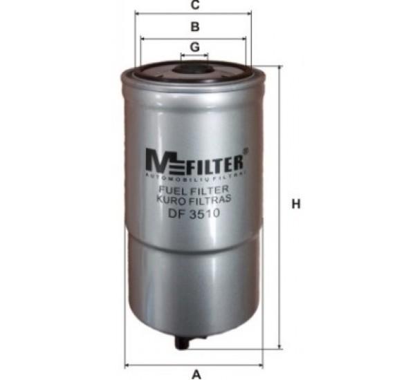 DF 3510 Фільтр для фільтрування палива у ДВЗ