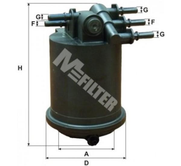 DF 3517 Фільтр паливний