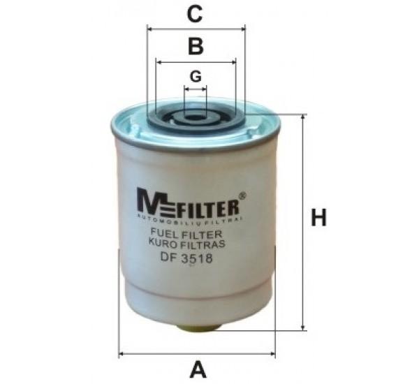 DF 3518 Фільтр паливний