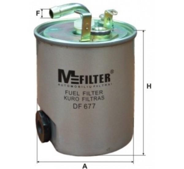 DF 677 Фільтр для фільтрування палива у ДВЗ