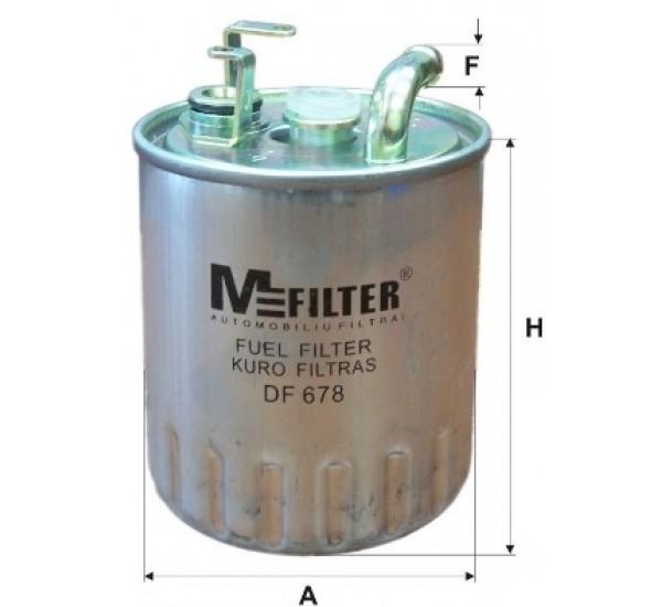 DF 678 Фільтр для фільтрування палива у ДВЗ