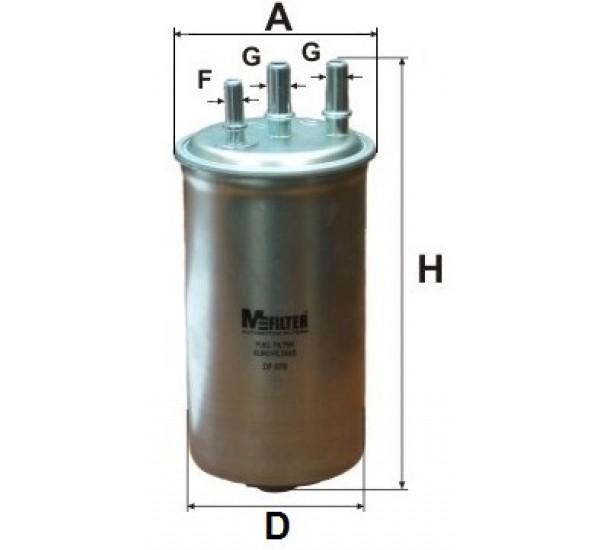 DF 679 Фільтр паливний