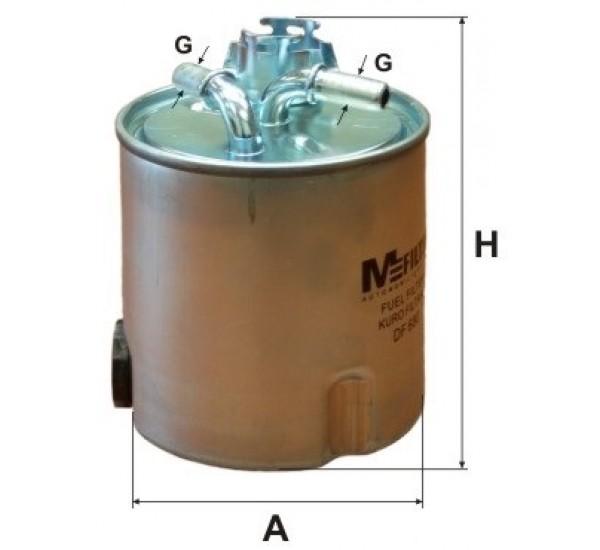 DF 680 Фільтр паливний