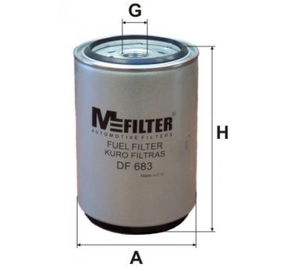 DF 683 Фільтр для фільтрування палива у ДВЗ