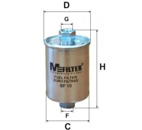 BF 10 Фільтр для фільтрування палива у ДВЗ