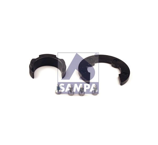 Подкова седла с вкладышем и болтами крепления (SAMPA)