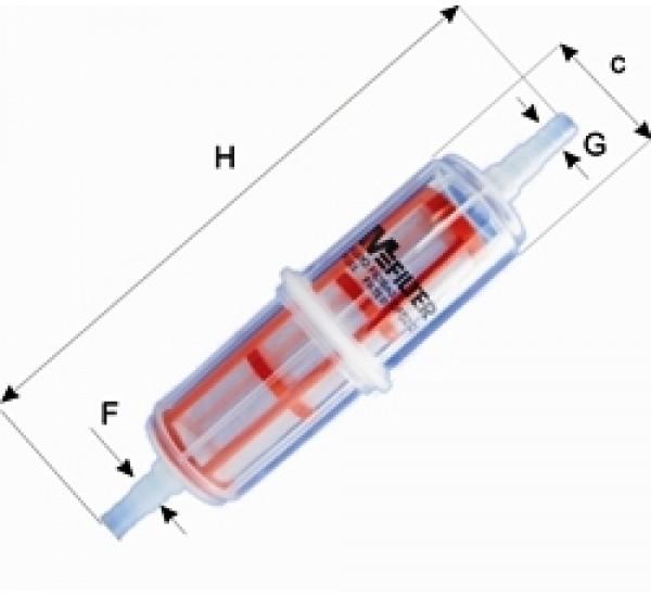 DF 02/2 Фільтр паливний