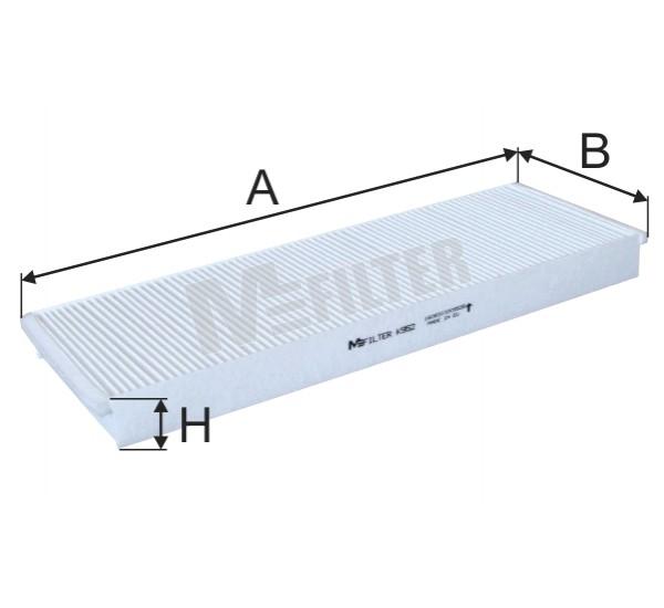K 952 Фільтр забору повітря для ДВЗ