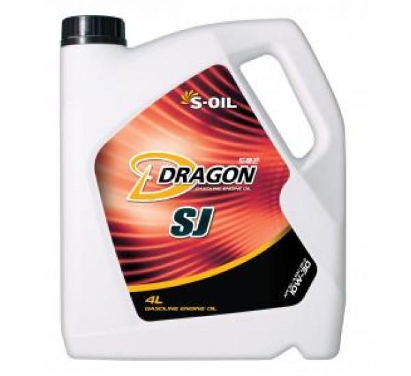 DRAGON SJ 10W30 Олива моторна синтетична 4л.