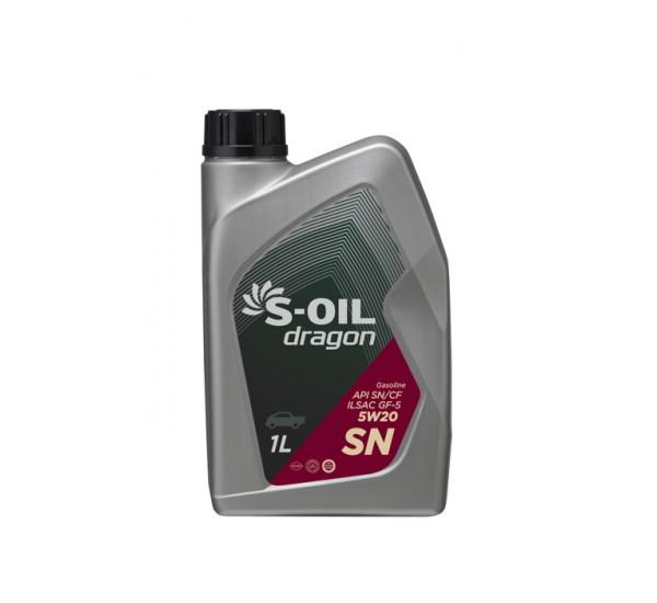 DRAGON SN 5W20 Олива моторна напівсинтетична 1л.