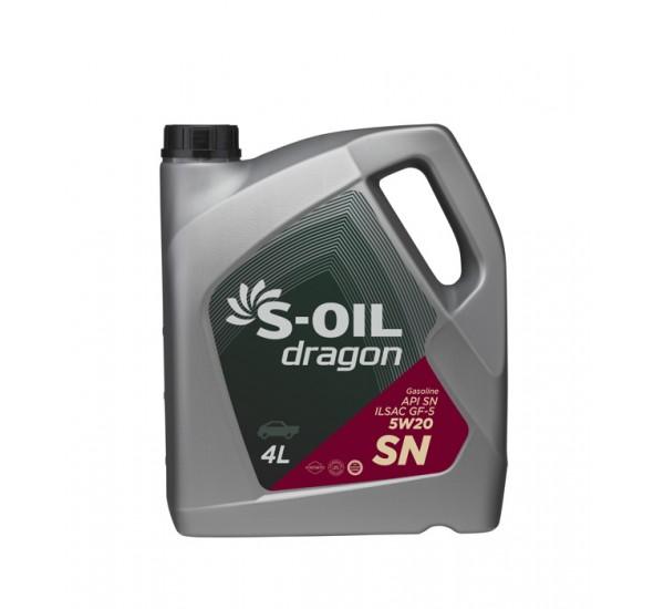 DRAGON SN 5W20 Олива моторна напівсинтетична 4л.