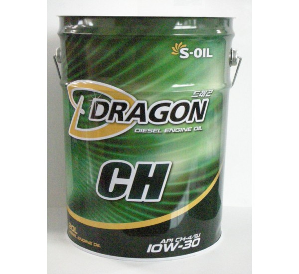 DRAGON CH-4/SJ 15W40  Олива моторна напівсинтетична 20л.