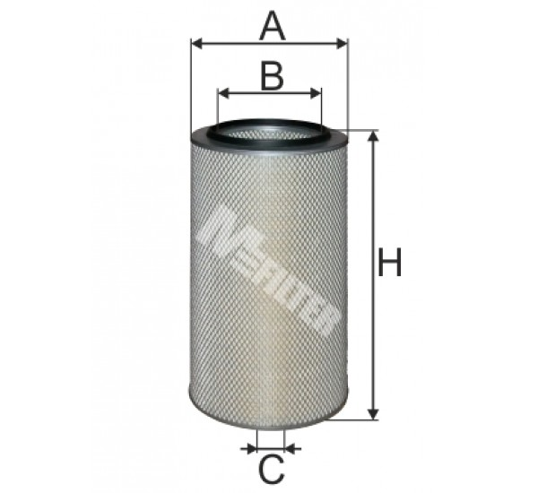 A 527S Фільтр забору повітря для ДВЗ