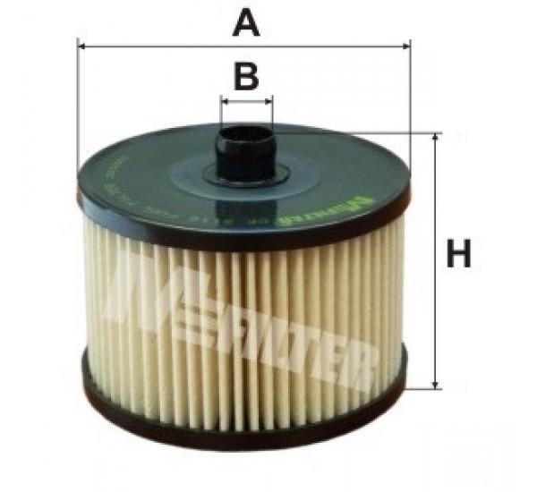 DE 3116 Фільтр для фільтрування палива у ДВЗ