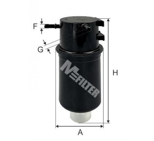 DF 3589 Фільтр для фільтрування палива у ДВЗ