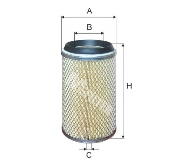 A 1065 Фільтр забору повітря для ДВЗ