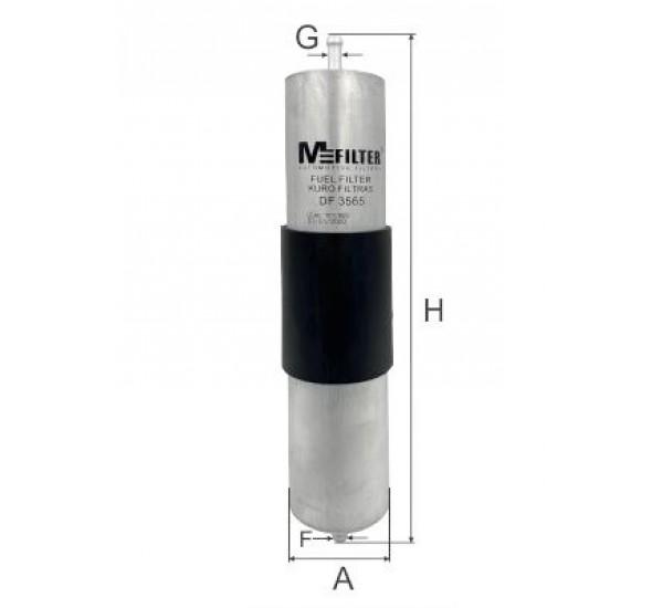 DF 3565 Фільтр для фільтрування палива у ДВЗ