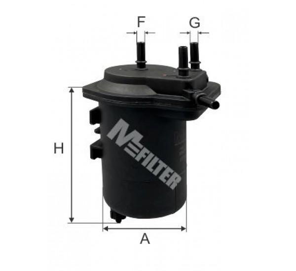 DF 3585 Фільтр для фільтрування палива у ДВЗ