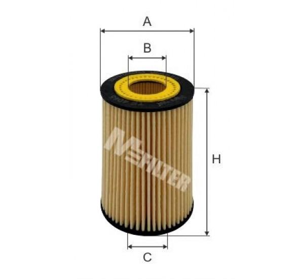 TE 4045 Фільтр мастила