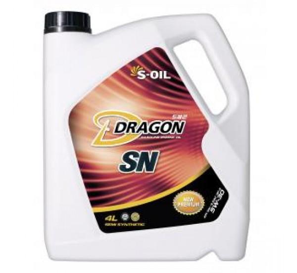DRAGON SN 10W40 Олива моторна напівсинтетична 4л.