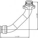 53174 Трубка турбины левая MB  (DINEX)..
