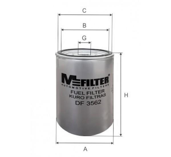 DF 3562 Фільтр для фільтрування палива у ДВЗ
